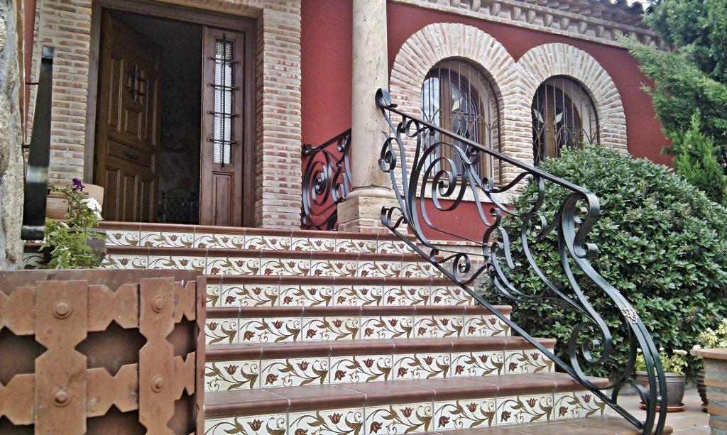 Escalera de Forja Art Nouveau (2)-min
