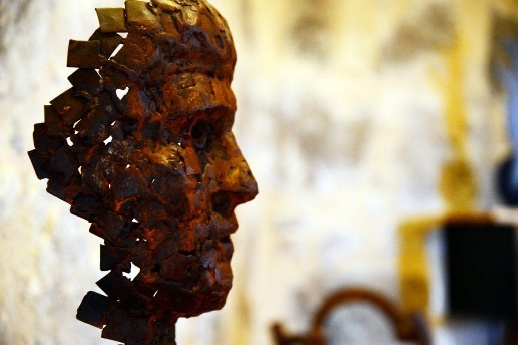 Escultura de forja
