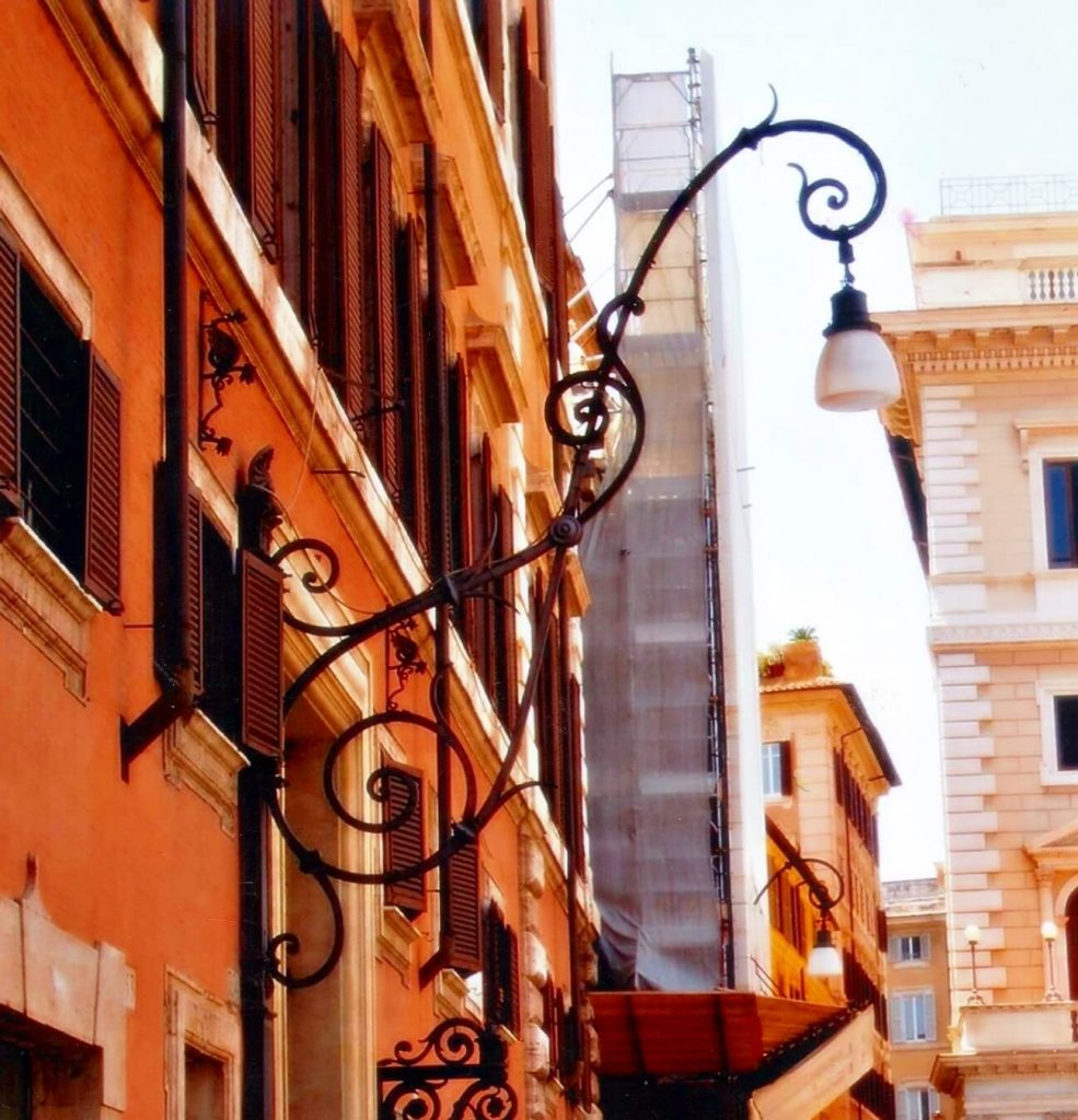 Lámpara de Forja Faroles de Calle Forja Artística