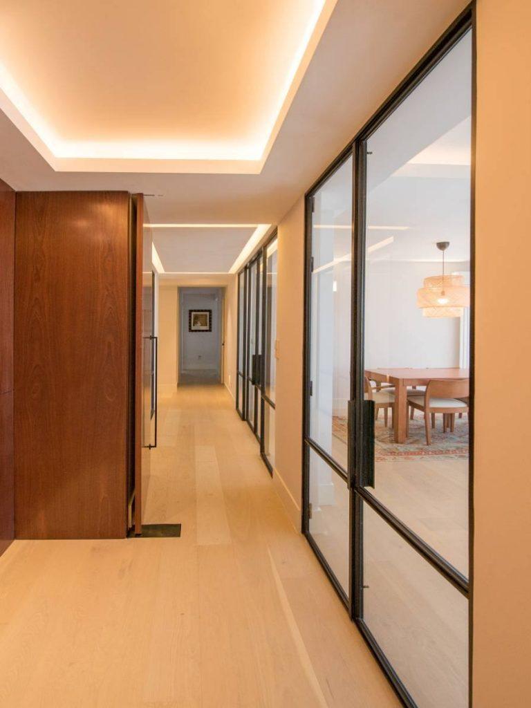 Puerta Forja interior hierro y cristal Industrial (2)