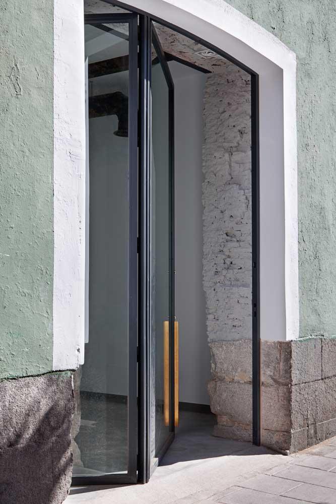 Puerta Forja interior hierro y cristal Industrial (4)