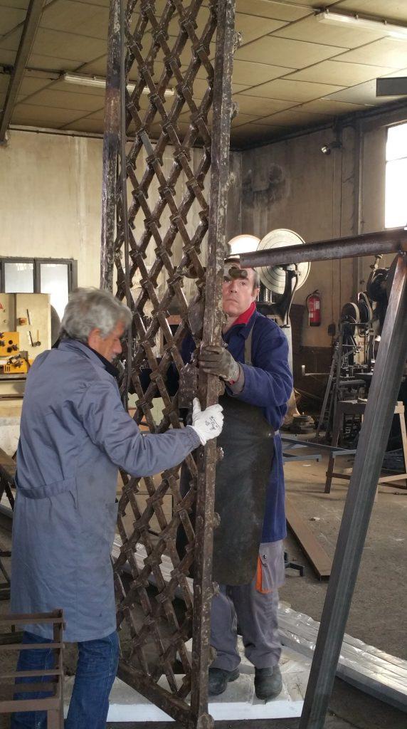 Restauración de Cerrajería artística (13)-min